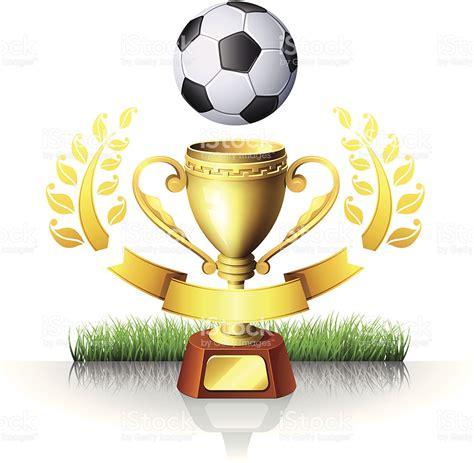 Copa De Fútbol Illustracion Libre de Derechos 455588157 ...