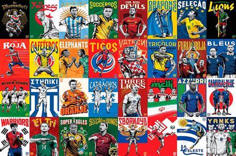 Copa Mundial de Fútbol  FIFA Brasil 2014  | Diseño Carteles