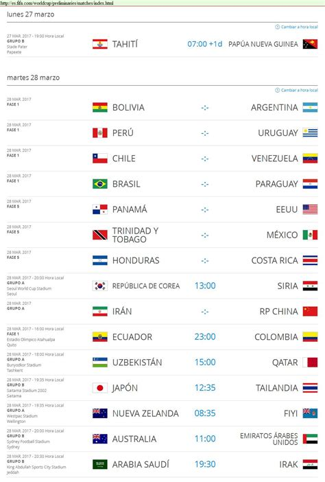 Copa Mundial de la FIFA Rusia 2018™ Proximos partidos ( 7 ...