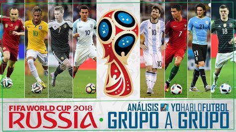 Copa Mundial Rusia 2018 | Predicción y Análisis Grupo a ...