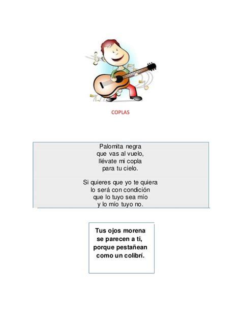 Coplas, canciones y....