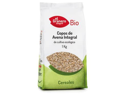 Copos de Avena Integral Bio, 1 Kg | El Granero Integral