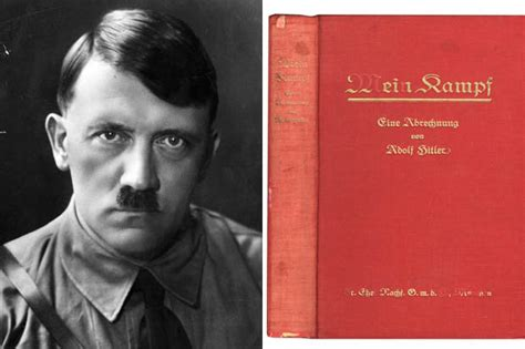 Copy of Nazi manifesto Mein Kampf signed by Hitler to go ...