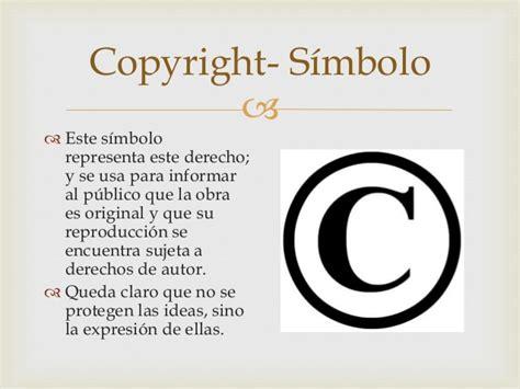 Copyright. Los derechos de autor