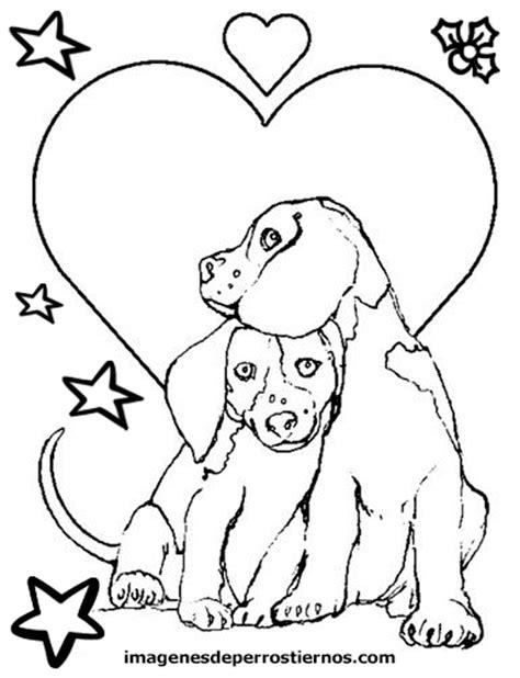 Coquetos Dibujos De Perritos Tiernos Para Colorear E ...