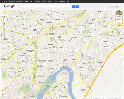 Cordoba Capital Mapa Google