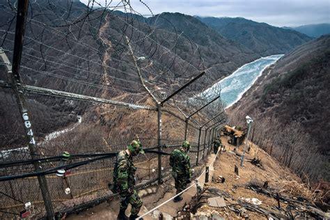 Corea, la zona prohibida