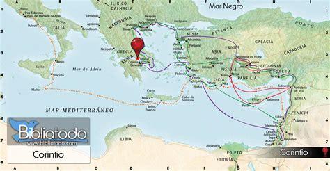 Corinto   Mapa y Ubicación Geográfica