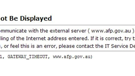 Corporate Australia: AFP and RBA websites suffer cyber attacks