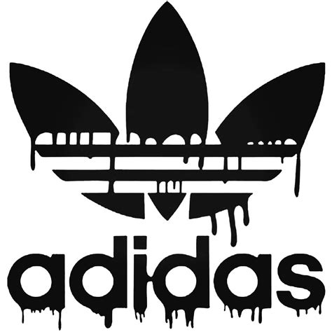 Corporate Logo s Adidas Dripping Blood Decal