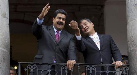 Correa se desmarca de Maduro y pide elecciones en Venezuela