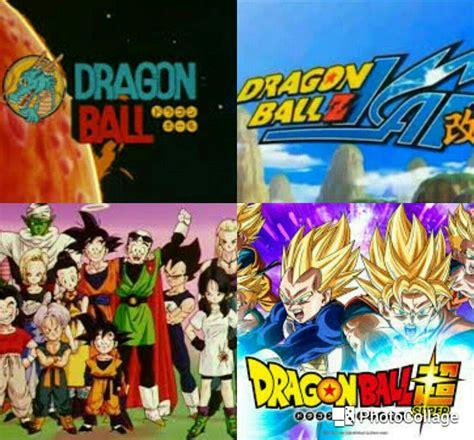 Correct Dragon Ball Watching Order? | DragonBallZ Amino
