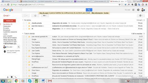 Correo de Gmail |Crear acceso directo a gmail