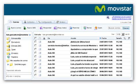 Correo electrónico de Movistar
