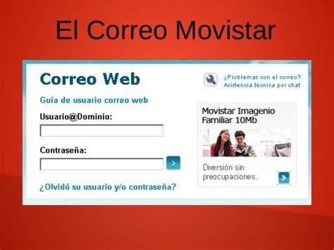Correo movistar - El Correo Electrónico de Movistar