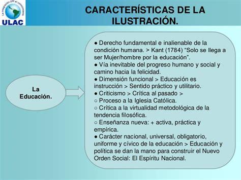 Corrientes educativas del siglo xviii