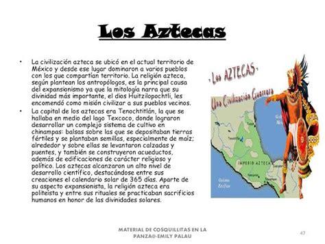 CoSqUiLLiTaS eN La PaNzA BLoGs: CIVILIZACIONES DE AMÉRICA ...