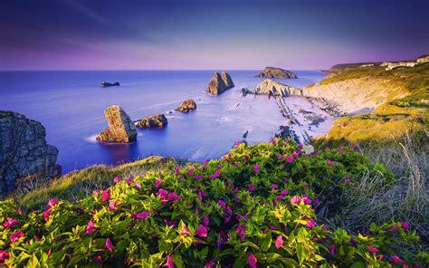 Costa Quebrada Cantabria en España | Fondo de pantalla ...