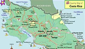 Costa Rica maps to help you plan your vacation   Go Visit ...