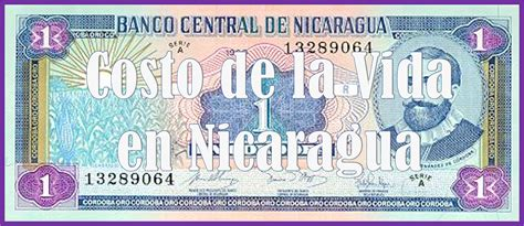 COSTO DE LA VIDA EN NICARAGUA   cambiocultura
