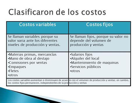 COSTOS Y GASTOS.   ppt video online descargar