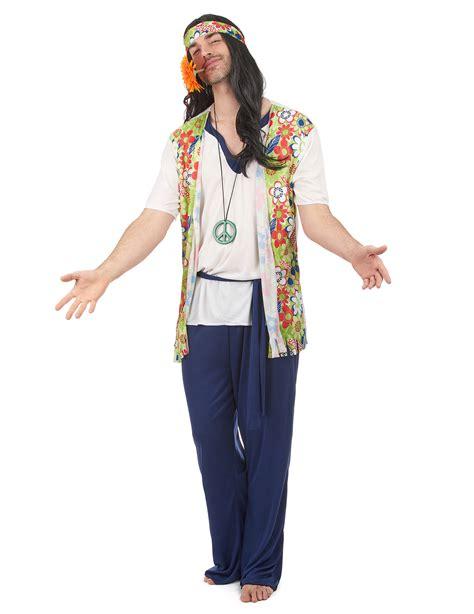 Costume hippy uomo: Costumi adulti,e vestiti di carnevale ...