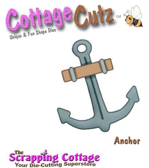 CottageCutz Anchor Shape (2x2) RETIRED