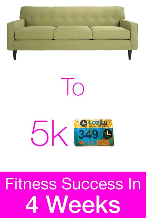 Couch to 5k in 4 weeks. LOVE this. Incorporates running ...