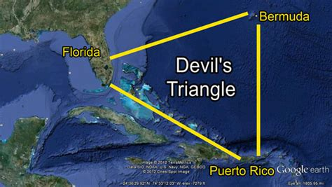 Could There Be An Alien Base Inside The Bermuda Triangle ...