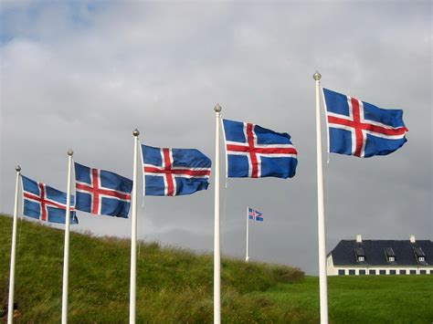 Country Flag Meaning: Iceland Flag Pictures