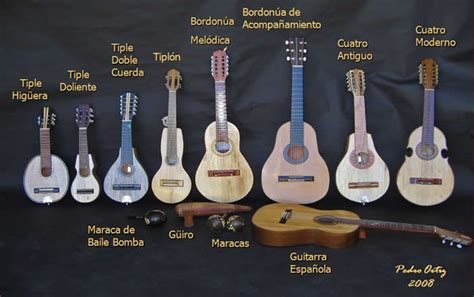 Country Music instruments from Puerto Rico | Musical ...