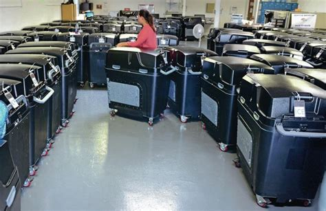 County invites public to test new voting machines   The ...