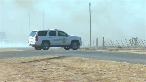 County Line Fire near Moore County now 90% contained | KVII