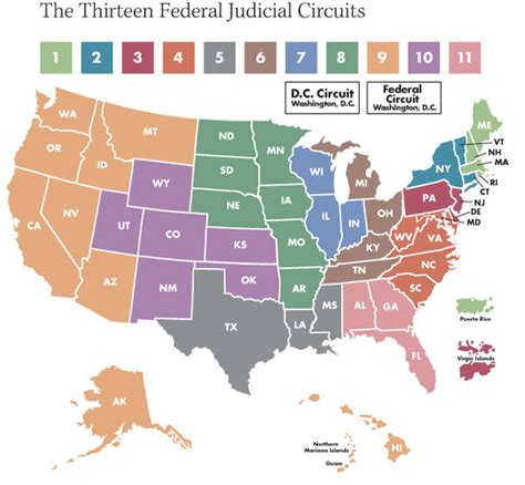 courts-of-appeal-circuit-map – Outside the Beltway