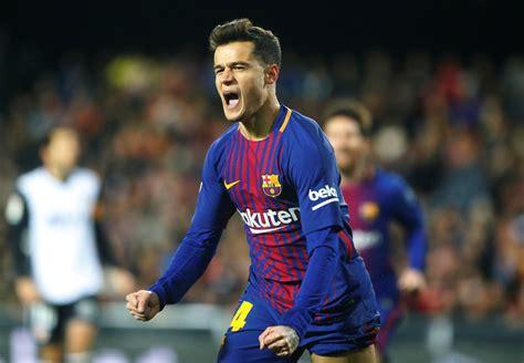 Coutinho, sobre el Valencia - Barcelona y su Gol | Copa ...
