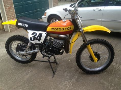 Craigslist: 1977 RM370 Moto X Fox   Old School Moto ...