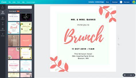 Crea diseños de invitaciones únicas online gratis con Canva
