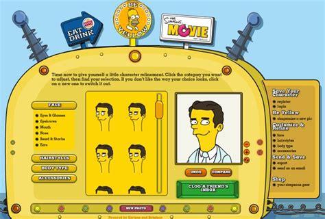 Crea tu personaje de los Simpsons