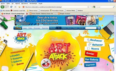 Crea tu propio logo de Art Attack ~ Disney StarsMx