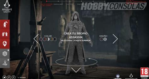 Crea tu propio personaje de Assassin s Creed Unity ...