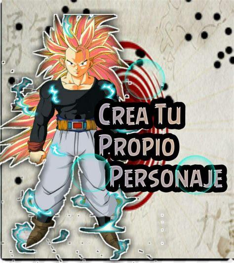 Crea Tu propio Personaje Estilo Dragon Ball.???? | DRAGON ...