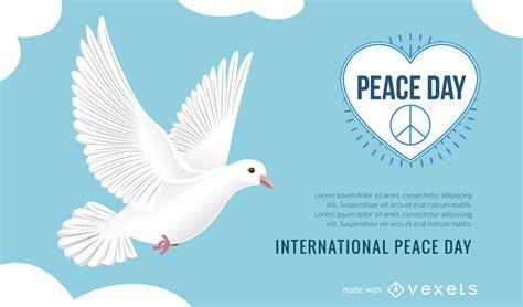 Creador de carteles del Día Internacional de la Paz ...