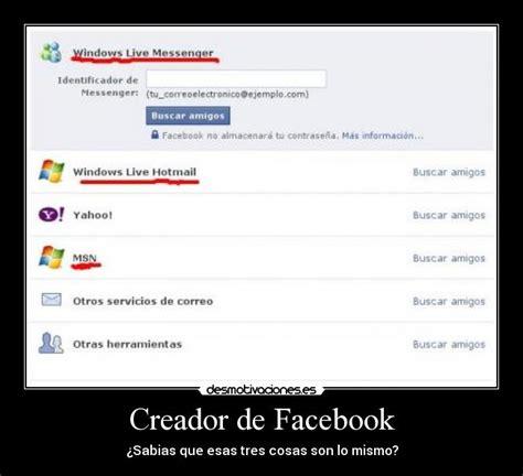 Creador de Facebook   Desmotivaciones