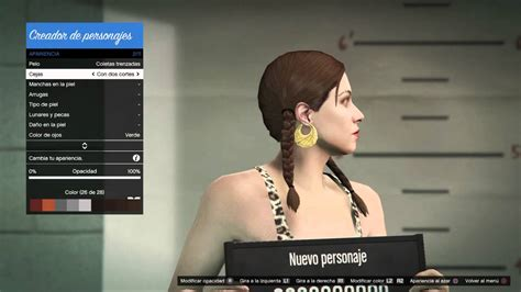 Creador de personaje en GTA V ONLINE  PS4    YouTube