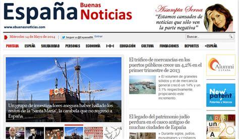 Crean en España diario enfocado en las buenas noticas ...