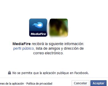 Crear cuenta Mediafire con Facebook | Iniciar sesion ...