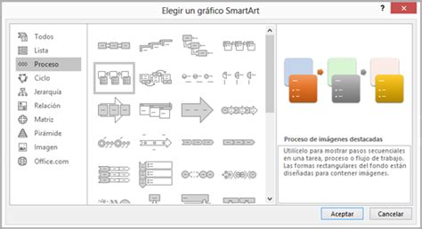 Crear un diagrama de flujo con SmartArt   Soporte de Office