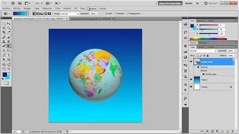 Crear un mundo en 3D rotando sobre si misma   tutorial de ...