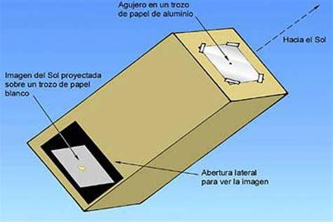 crear un proyector para ver el eclipse solar [rápido ...