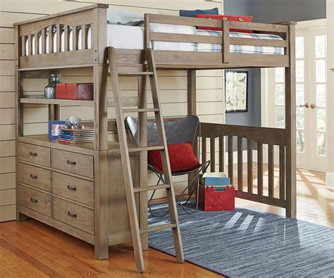 Creative Ideas for Adult Loft Bed - HomeStyleDiary.com